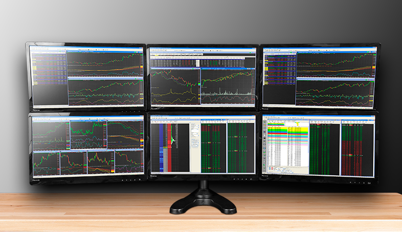 Trading Computers Multiple Monitor Arrays